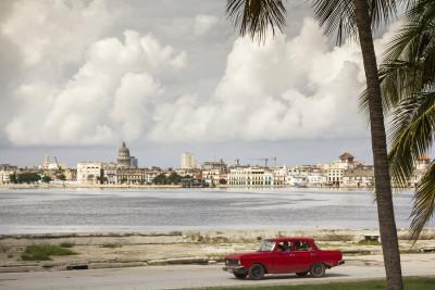 Blick auf Havanna von Regla, Kuba