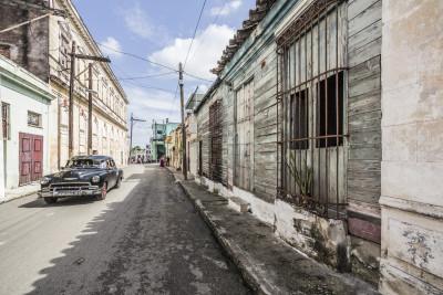 Typisches Holzhaus in Regla, Kuba