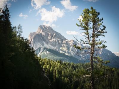 Von Cortina d'Ampezzo nach Croda di Lago