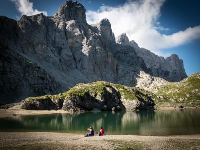 Lago Coldai mit Civetta