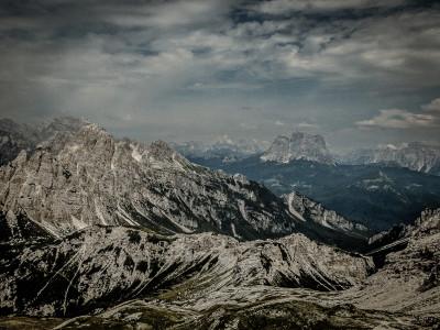 Blick von der Forcella Sud del Van de Città