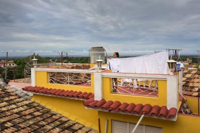 Portrait, Fotografie, Reportage, ReisefotografieWaschtag in Trinidad, Kuba