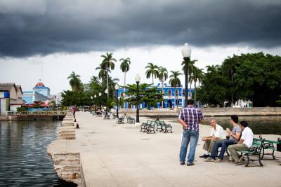 Mole in Cienfuegos, Kuba