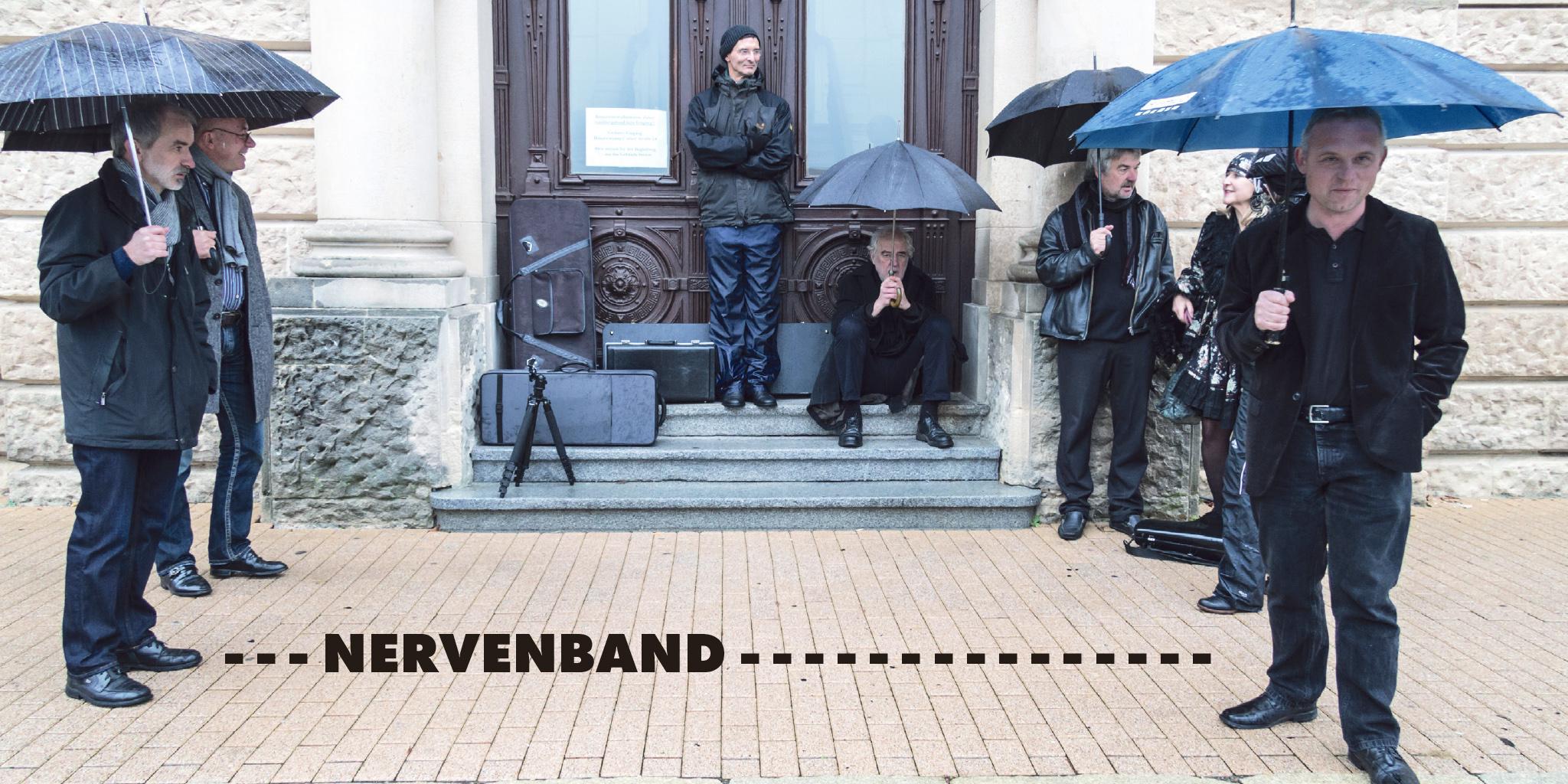 Nervenband - Fotos für Booklet der CD Li'l Darlin'