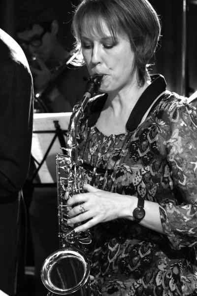 Simone Hochrein, Altsax - Nervenband