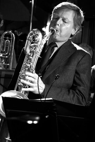 Ulf Schreiner, Baritonsax - Nervenband