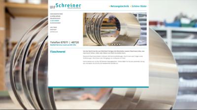 Webseite Ulf Schreiner