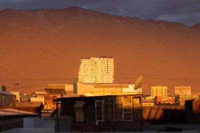 Sonnenuntergang in Iquique