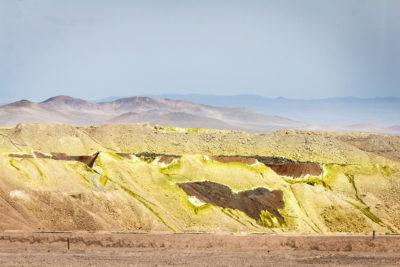 Salpeter in der Atacamawüste