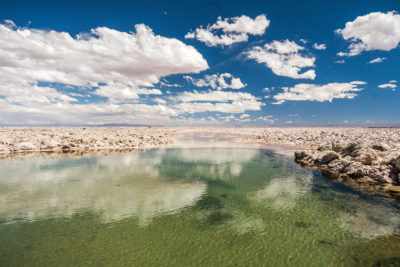 Salzsee von Atacama