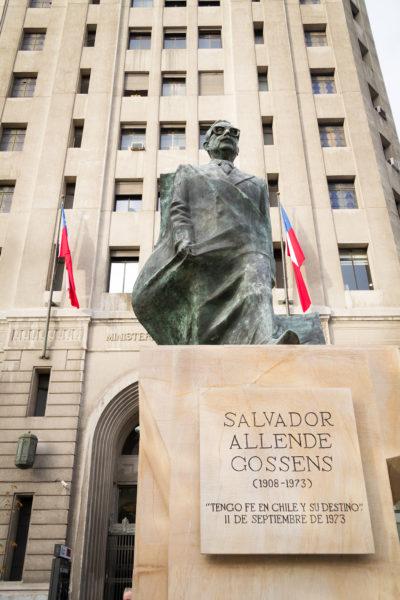 Denkmal für Salvador Allende