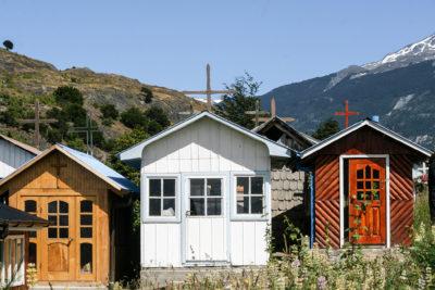 Friedhof im Aysén