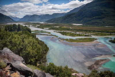 Tal des Río Ibañez im Aysén