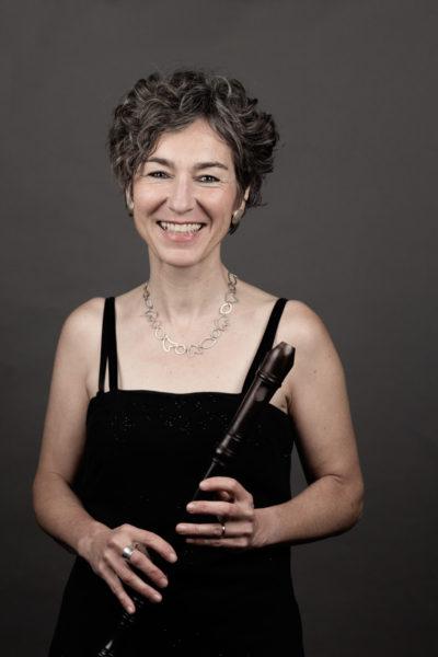 Flötistin Christine Schäfer