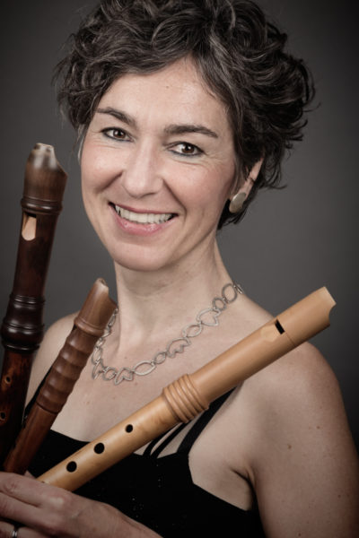 Gine Schäfer, Flötistin