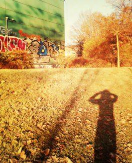 Selfie im Herbst