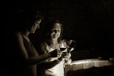 Martina Korak, Önologin und Cecilia Zucca, Winzerin. (www.poggioridente.it)