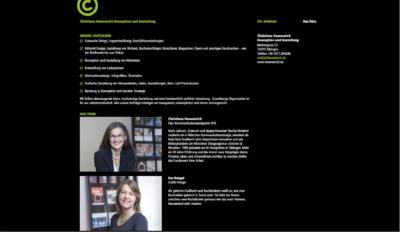 Webseite Christiane Hemmerich