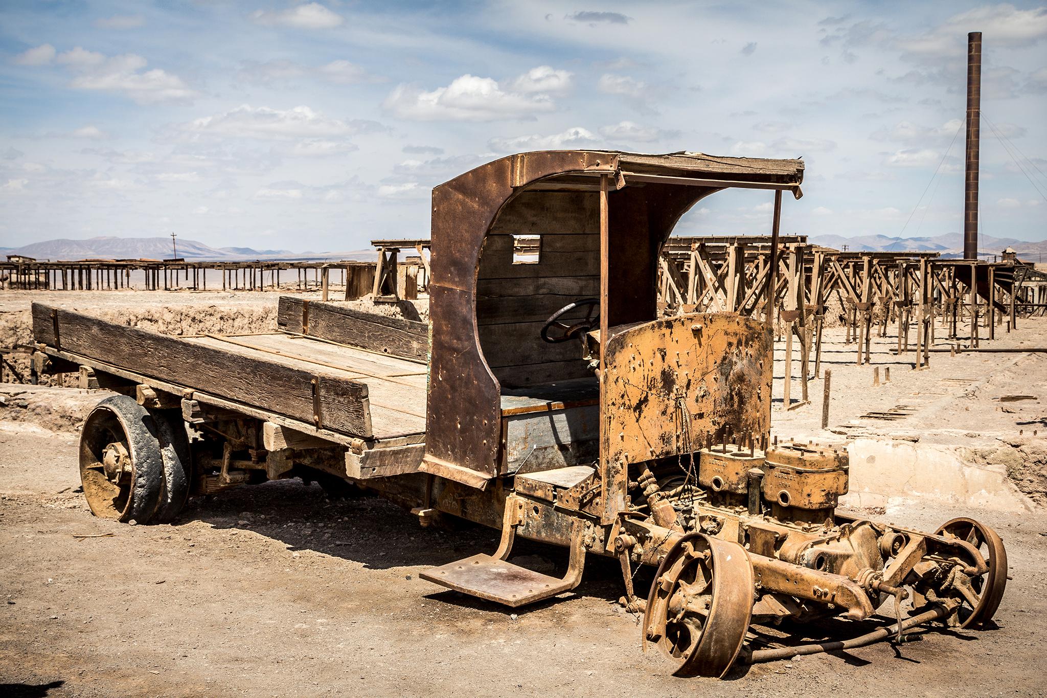 Verlassene Mine. Chile, 2015