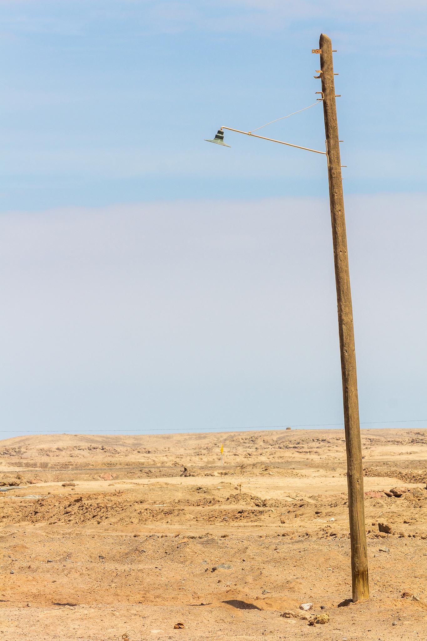 Wüstenlampe. Chile, 2015