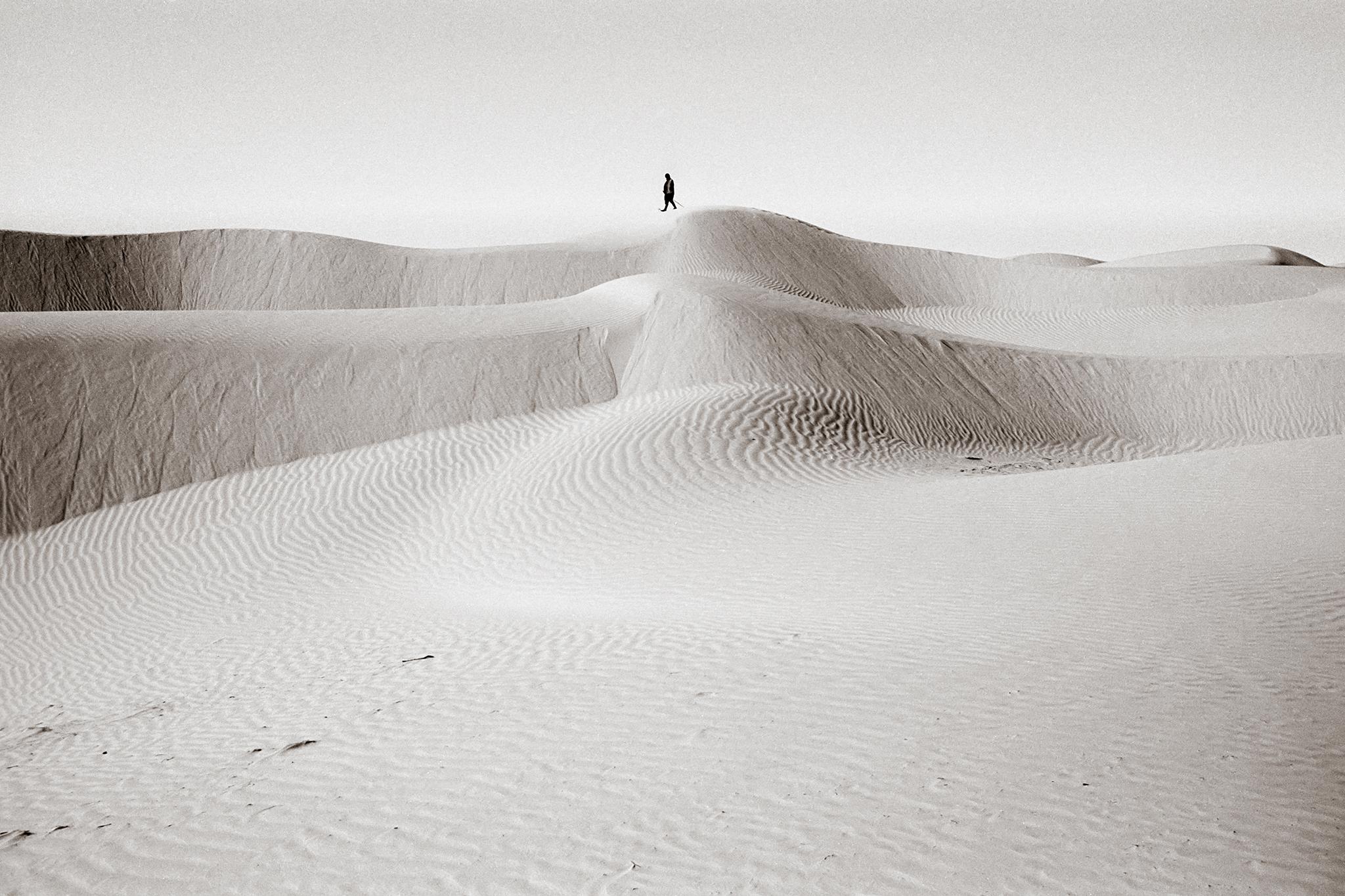 Unterwegs. Sahara, 2003