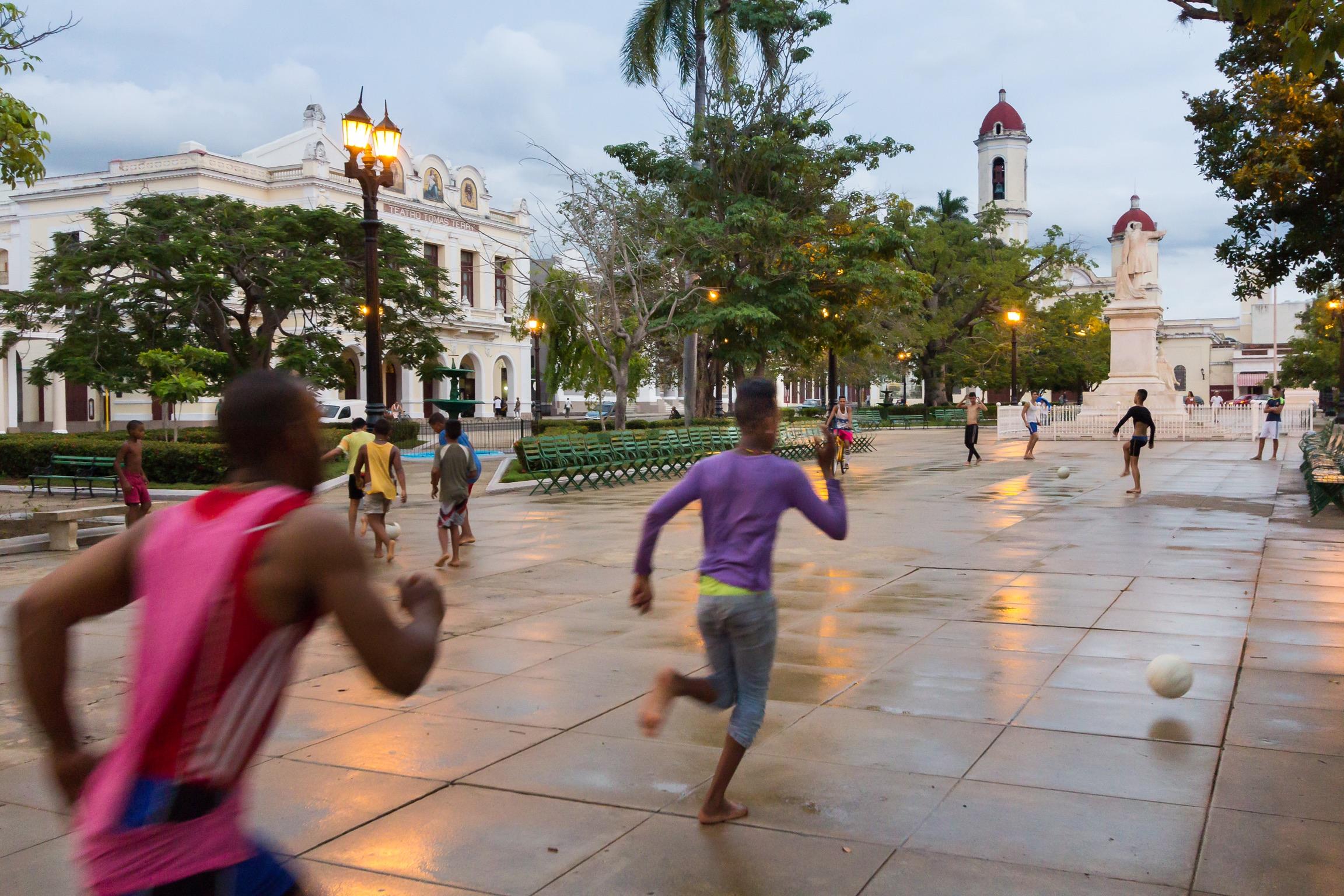 Nach dem Regen. Cienfuegos 2015
