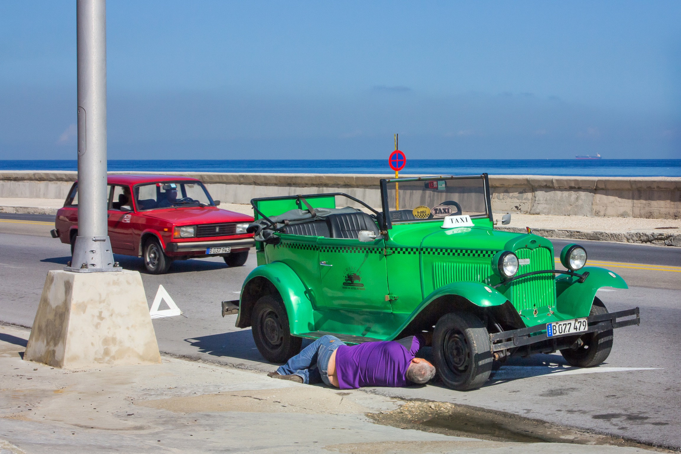 Motorschaden. Havanna 2015