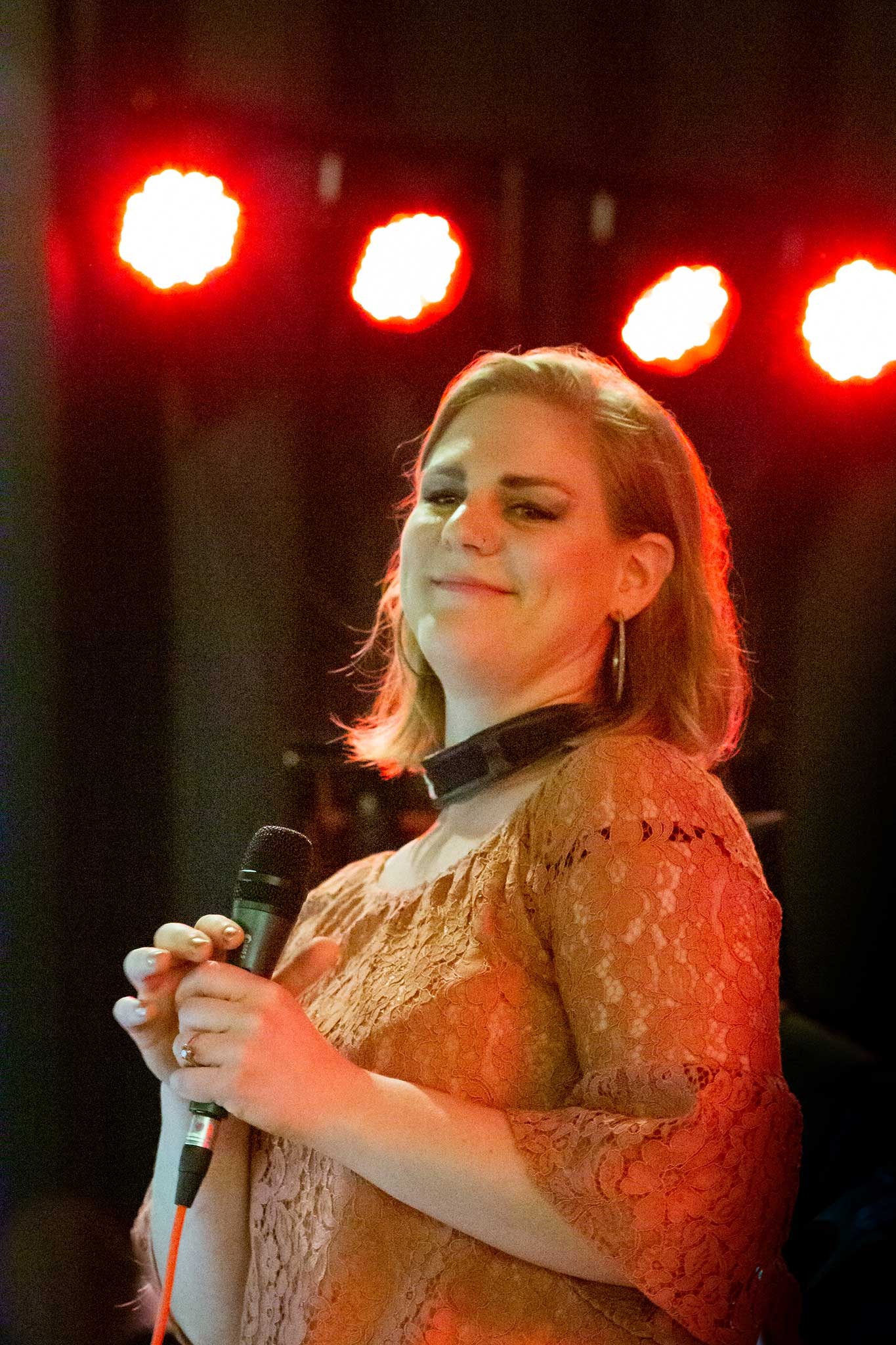 Vivien Schwedler, Baritonsax+Vocal